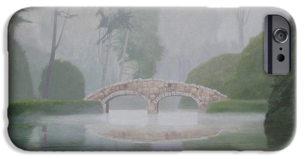 Leonard Filgate iPhone Cases - Stone Bridge iPhone Case by Leonard Filgate