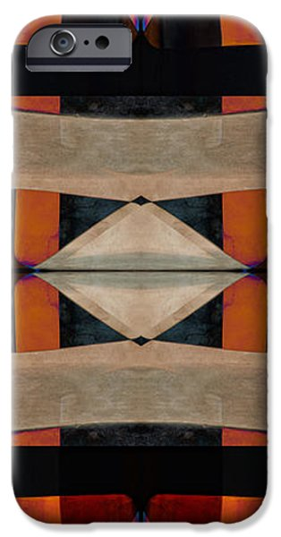 Santa Digital iPhone Cases - Stone Canyons Santa Fe Series 1 iPhone Case by Carol Leigh