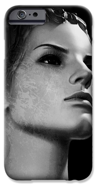 Beauty Mark iPhone Cases - Stone Cold iPhone Case by Mountain Dreams