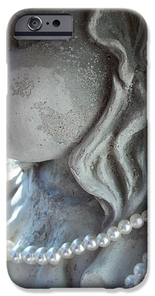 Garden Girl iPhone Case by Johnna Correll
