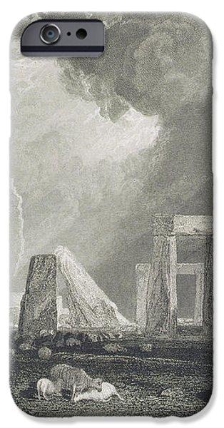 Stone Henge iPhone Case by Joseph Mallord William Turner