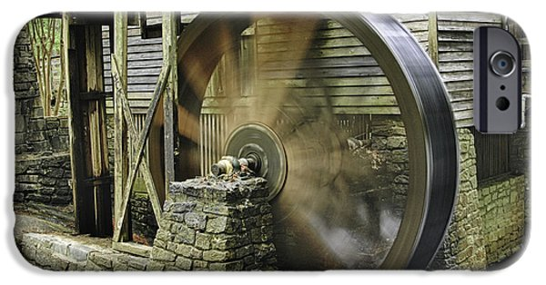 Grist Mill iPhone Cases - Stone Mountain Mill iPhone Case by Bob McGill