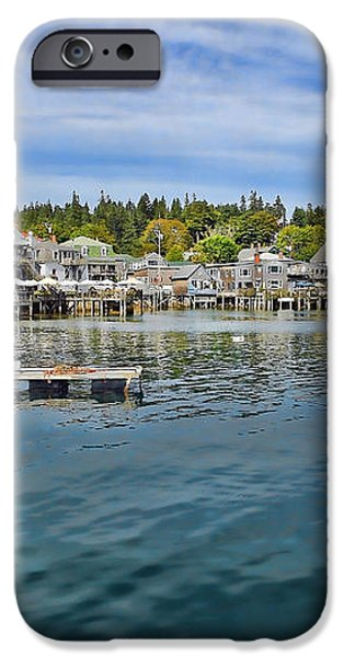 Stonington in Maine iPhone Case by Olivier Le Queinec