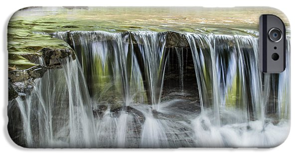 States iPhone Cases - Stony Brook Waterfalls V iPhone Case by Ray Sheley