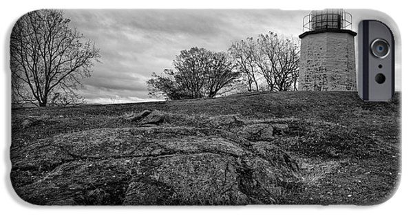 Hudson River iPhone Cases - Stony Point Lighthouse iPhone Case by Joan Carroll