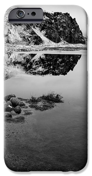 Beautiful Scenery iPhone Cases - Stora Dimon Reflection iPhone Case by Dave Bowman