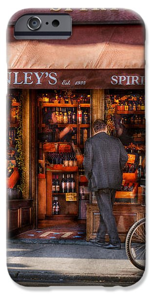 Store - Wine - NY - Chelsea - Wines and Spirits Est 1934  iPhone Case by Mike Savad