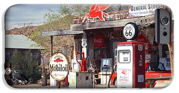 Fuel And Power Generation iPhone Cases - Store With A Gas Station iPhone Case by Panoramic Images