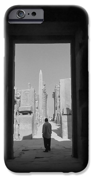 Karnak iPhone Cases - Stories of the ancient.. iPhone Case by A Rey
