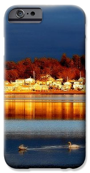 storm at sunset iPhone Case by Marysue Ryan