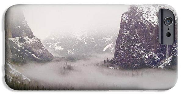 Bill Gallagher Photographs iPhone Cases - Storm Brewing iPhone Case by Bill Gallagher