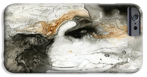 Storm iPhone Cases - Storm Brewing iPhone Case by Ruth Hurd