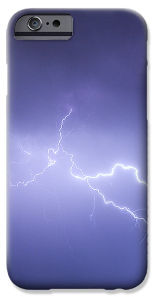 Storm Chase Six Twenty Eight Thirteen iPhone Case by James BO  Insogna