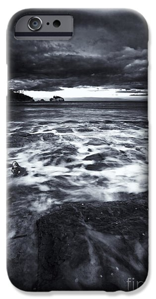 Storm Clouds iPhone Cases - Storm Clearing iPhone Case by Mike  Dawson