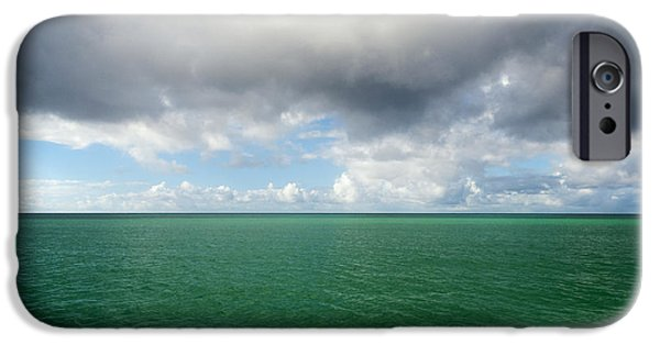 Gathering Photographs iPhone Cases - Storm clouds gathering iPhone Case by Fabrizio Troiani