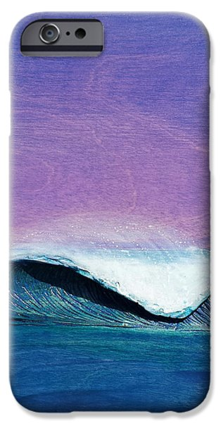 Ocean Reliefs iPhone Cases - Storm Clouds iPhone Case by Nathan Ledyard