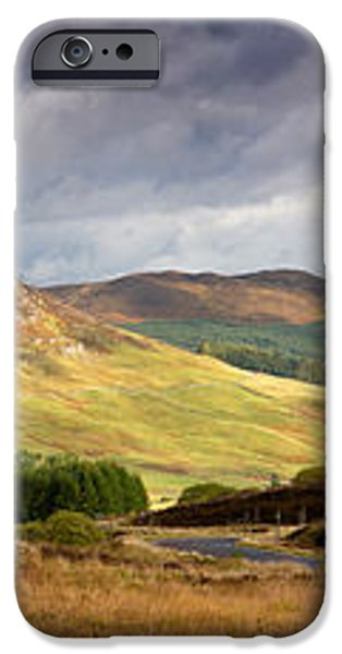 Storm clouds over the Glen iPhone Case by Jane Rix