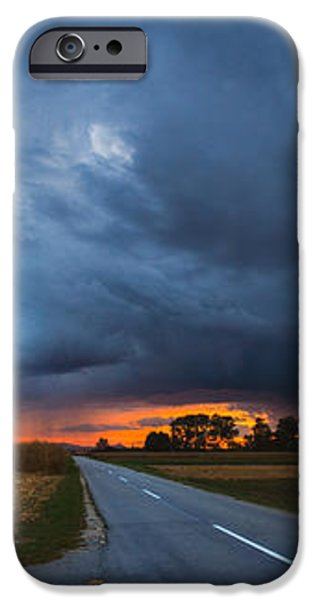 Storm is coming iPhone Case by Davorin Mance