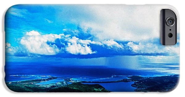 Storm iPhone Cases - Storm Off Of Sint Maarten, Netherlands iPhone Case by Panoramic Images
