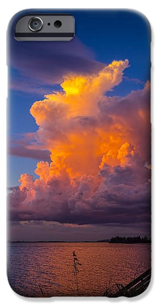 Storm on Tampa iPhone Case by Marvin Spates