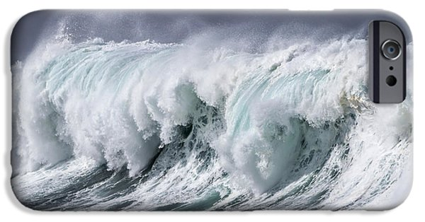 Epic iPhone Cases - Storm Surf iPhone Case by Kelly Headrick