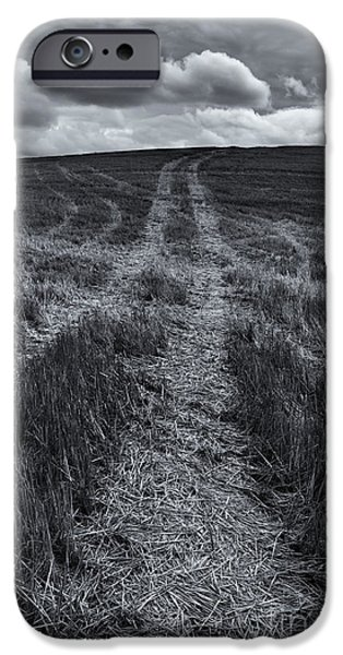 Storm Tracks iPhone Case by Mike  Dawson