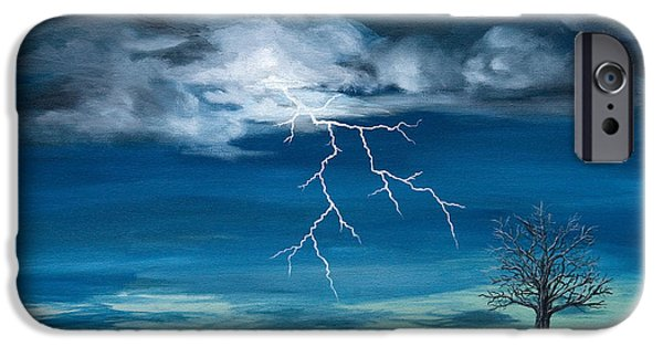 Doghouse iPhone Cases - Storm iPhone Case by Tracy Tauber