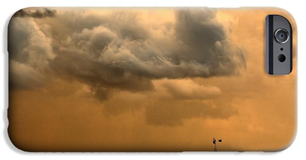 Drama iPhone Cases - Storms a Brewing iPhone Case by Steven Reed