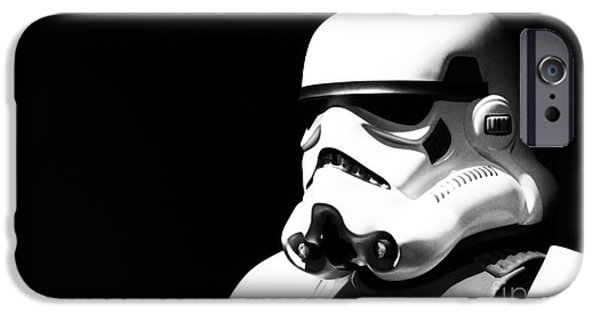 Star Alliance Photographs iPhone Cases - Stormtrooper iPhone Case by Chris Thomas