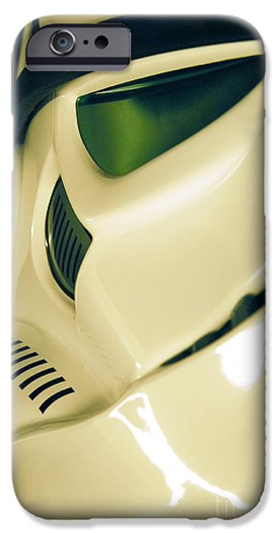 Science Fiction Photographs iPhone Cases - Stormtrooper Helmet 111 iPhone Case by Micah May