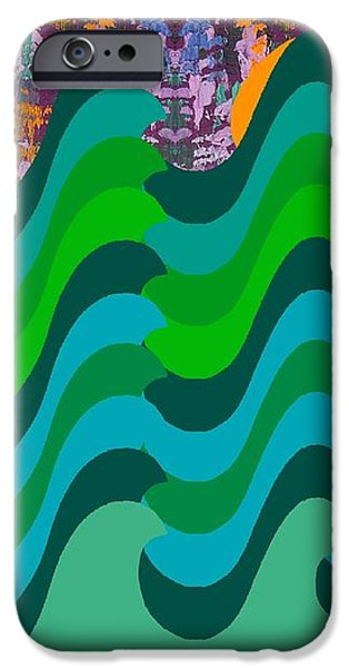 STORMY SEA iPhone Case by Patrick J Murphy