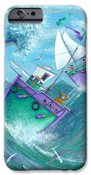 Stormy Weather iPhone Case by Peter Adderley