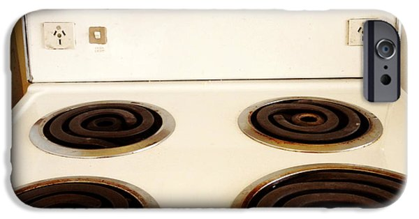 Appliance iPhone Cases - Stove top iPhone Case by Les Cunliffe