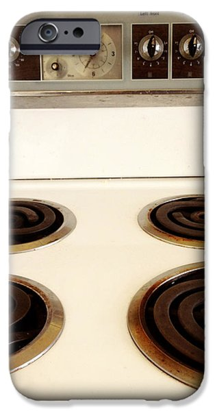 Stove top iPhone Case by Les Cunliffe