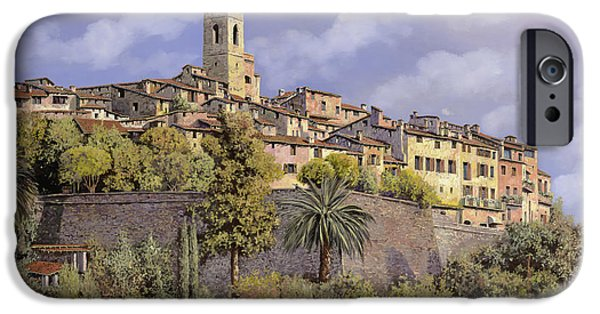Ma iPhone Cases - St.Paul de Vence iPhone Case by Guido Borelli