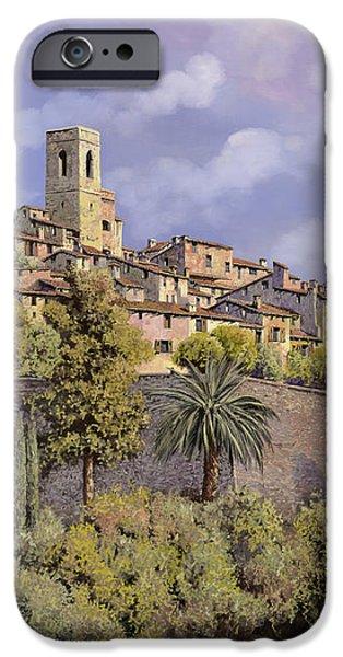 St.Paul de Vence iPhone Case by Guido Borelli