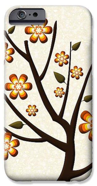 Bloom iPhone Cases - Strange Season iPhone Case by Anastasiya Malakhova