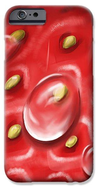 Strawberry iPhone Case by Veronica Minozzi