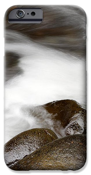 Stream flowing  iPhone Case by Les Cunliffe