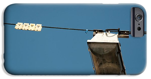 Over Hang iPhone Cases - Street Light iPhone Case by Frank Gaertner