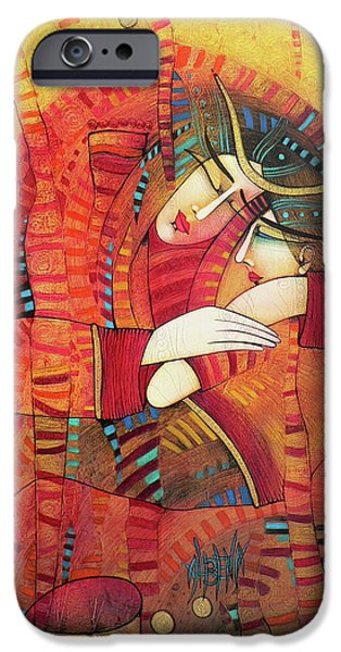 Albena iPhone Cases - Street Madona iPhone Case by Albena Vatcheva