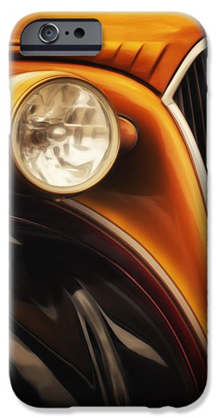 Airbrush iPhone Cases - Street Rod 3 iPhone Case by Jack Zulli