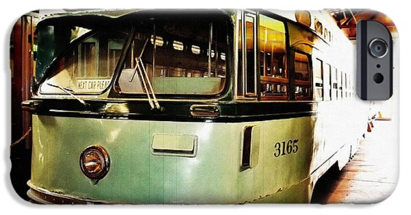 Pcc iPhone Cases - Streetcar 3165 iPhone Case by Glenn McCarthy Art and Photography