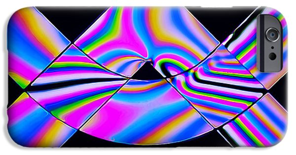 Stripes iPhone Cases - Stress Test 1 iPhone Case by Bill Caldwell -        ABeautifulSky Photography
