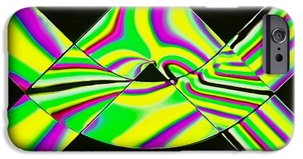 Stripes iPhone Cases - Stress Test 3 iPhone Case by Bill Caldwell -        ABeautifulSky Photography