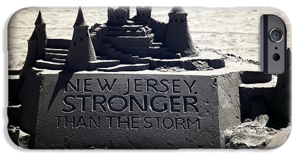 Strong America iPhone Cases - Stronger than the Storm iPhone Case by John Rizzuto