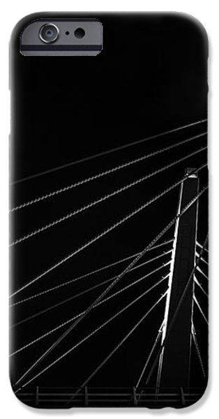 Structure in the Shadows iPhone Case by CJ Schmit