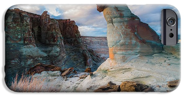 Ocean Sunset iPhone Cases - Stud Horse Point 2 iPhone Case by Larry Marshall
