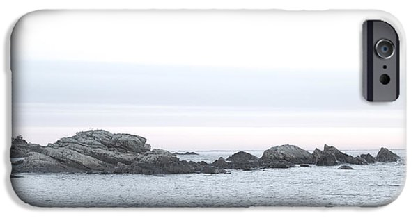 Maine iPhone Cases - Study in Grey iPhone Case by Craig Bohanan