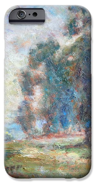 Study of An Impressionist Master iPhone Case by Quin Sweetman